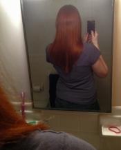 How long my hair has gotten